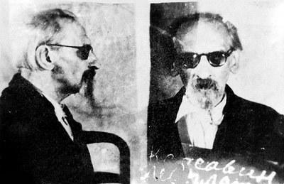 Л.П.Карсавин. Фото 1949. Из личного дела заключенного