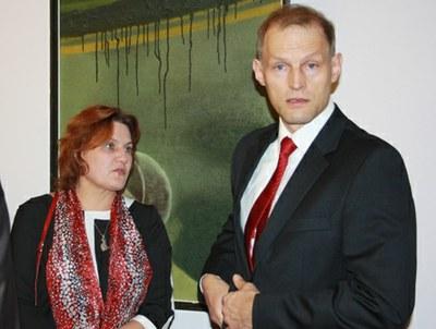Посол и пани Наталья