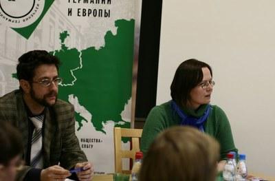 Александр Карпов и Елена Белокурова