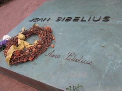 могила Сибелиуса