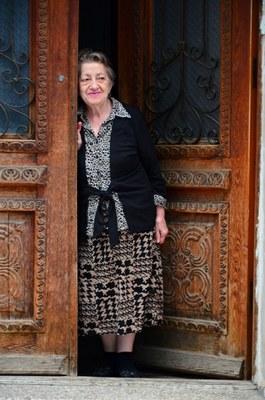 Жительница Тбилиси