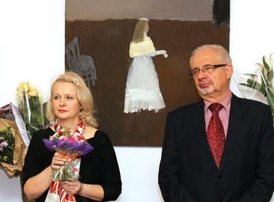 открытие выставки Юлии Сопиной