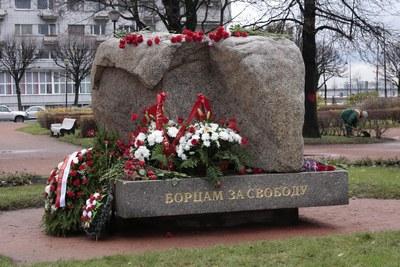 Соловецкий камень на Троицкой площади