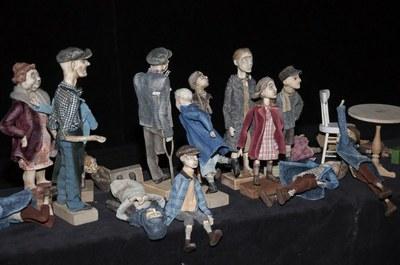 Куклы спектакля  Спектакль «Когда я снова стану маленьким» по произведениям Януша Корчака