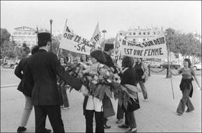 Демонстрация французских феминисток. 1970