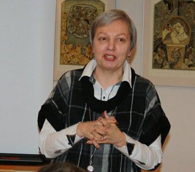 Обльга Тублина, директор издательства Лимбус Пресс