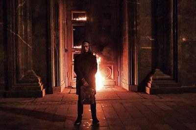 Художественная акция Петра Павленского как социологический кейс
