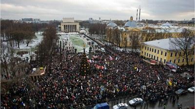 Против «драконовых» поправок к законодательству о митингах
