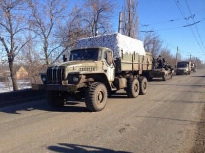 Дебальцево: украинским войскам удалось выйти из города с оружием и техникой