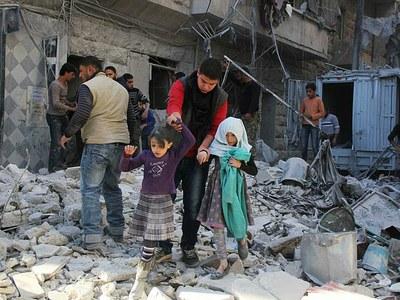 Российские бомбардировки Сирии: предновогодние итоги