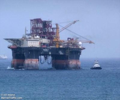 """""""Scarabeo 9"""" ползёт в сторону Черного моря"""