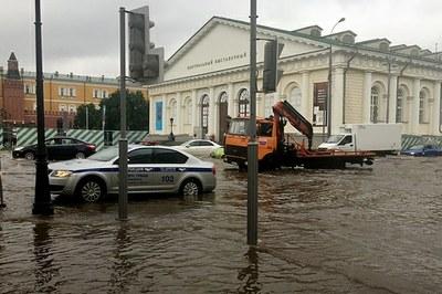 В Москве тоже бывают наводнения… Отчего?