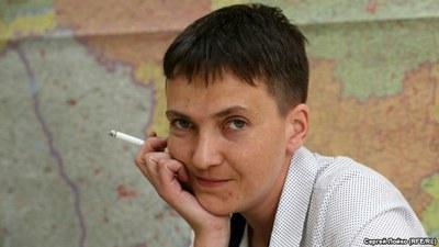 «Я заочный политик уже два года, но реальный всего две недели…» (Н. Савченко)