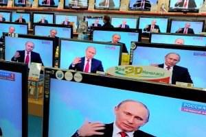 Зарубежные аналитики о рейтинге Путина