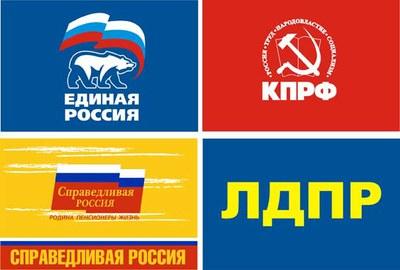 Электораты 4-х парламентских партий различаются, но  не больше, чем сами эти партии между собой