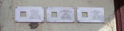 Новые таблички «Последнего адреса»