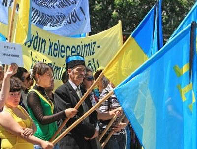Крымским татарам в день 18 мая