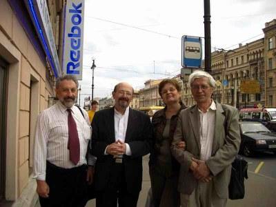 Владимиру Паниотто – привет из Фостер сити