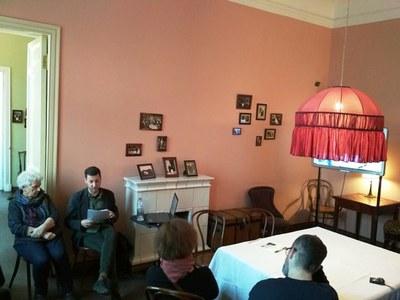 Электронный проект Tamizdat представили в Музее Ахматовой