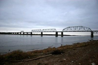 Ирина Дубровина: Как строился мост в Котласе