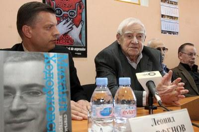Презентация книги Михаила Ходорковского в Петербурге: обзор СМИ