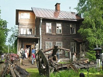 Волонтерский ремонт «Деревни художников» в Озерках