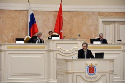 Александр Шишлов в Мариинском дворце 17.04.2013