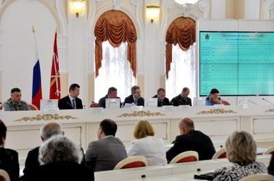 Александр Шишлов принял участие в расширенном заседании призывной комиссии Санкт-Петербурга
