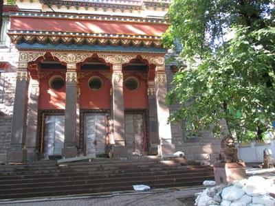 Ровно 100 лет назад в Петрограде открылся буддистский дацан