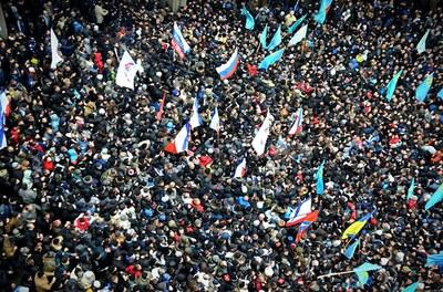 День солидарности с Крымом в Санкт-Петербурге