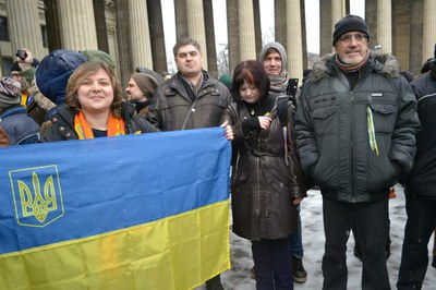 Петербуржцев зовут на антивоенный марш