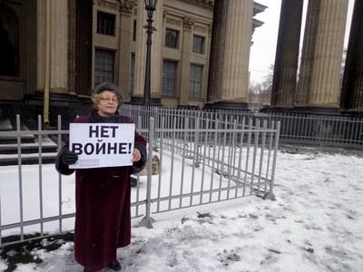Против войны, против самоизоляции России, против реставрации тоталитаризма