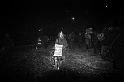 Первое петербургское шествие памяти антифашистов