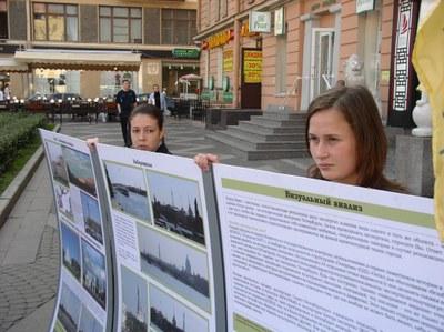 Пикеты Гражданской коалиции в защиту Петербурга