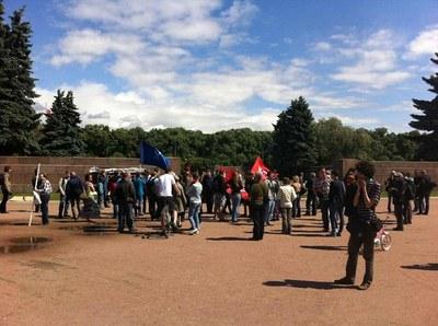 Немитинг и пикеты в поддержку узников Болотной