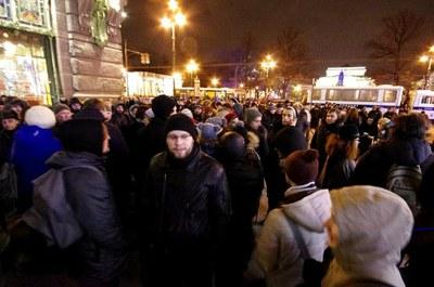 Солидарность с узниками Болотной в Петербурге