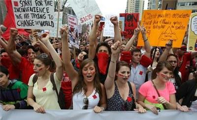 Активистки из Квебека раскажут о студенческих забастовках