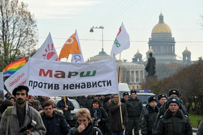 Марш против ненависти 2 ноября 2013