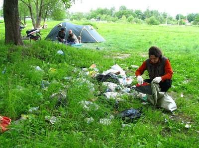 Волонтеров зовут на уборку Дудергофского озера