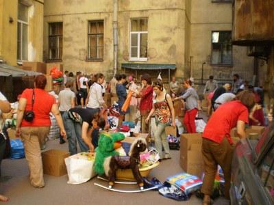 Волонтерский тренд 2012