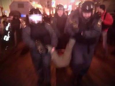 Ольга Курносова жалуется на избиение и духоту