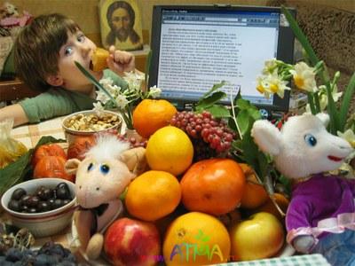 Лев Усыскин. Несколько случайных слов о фруктах