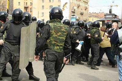 Как разгоняли Марш Несогласных 15 апреля 2007