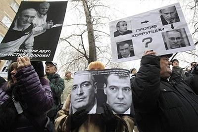 Петербург о приговоре Ходорковскому и Лебедеву по второму делу. Часть 1