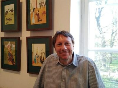 Александр Войцеховский добрался до Музея Ахматовой