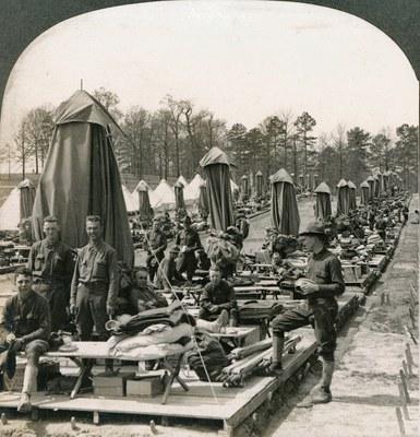 Первая мировая война глазами американских фотографов