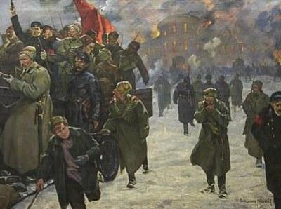 Три картины Февральской революции