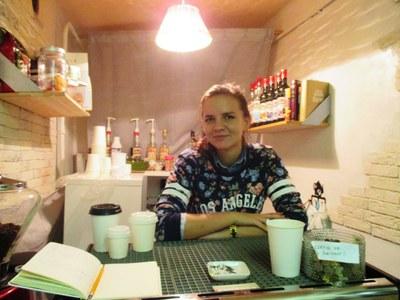 Кофейные чашки на петербургской стене и Soul-business Алены