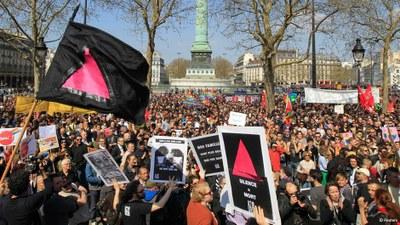 """Реакцию на массовые протесты в России и в Европе обсудили в """"Зеленой лампе"""""""
