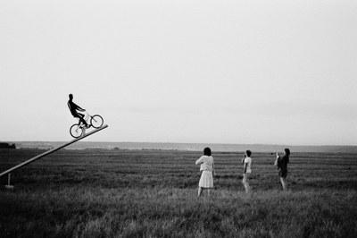 Фотографии Павла Смертина на вернисаже в МИФе